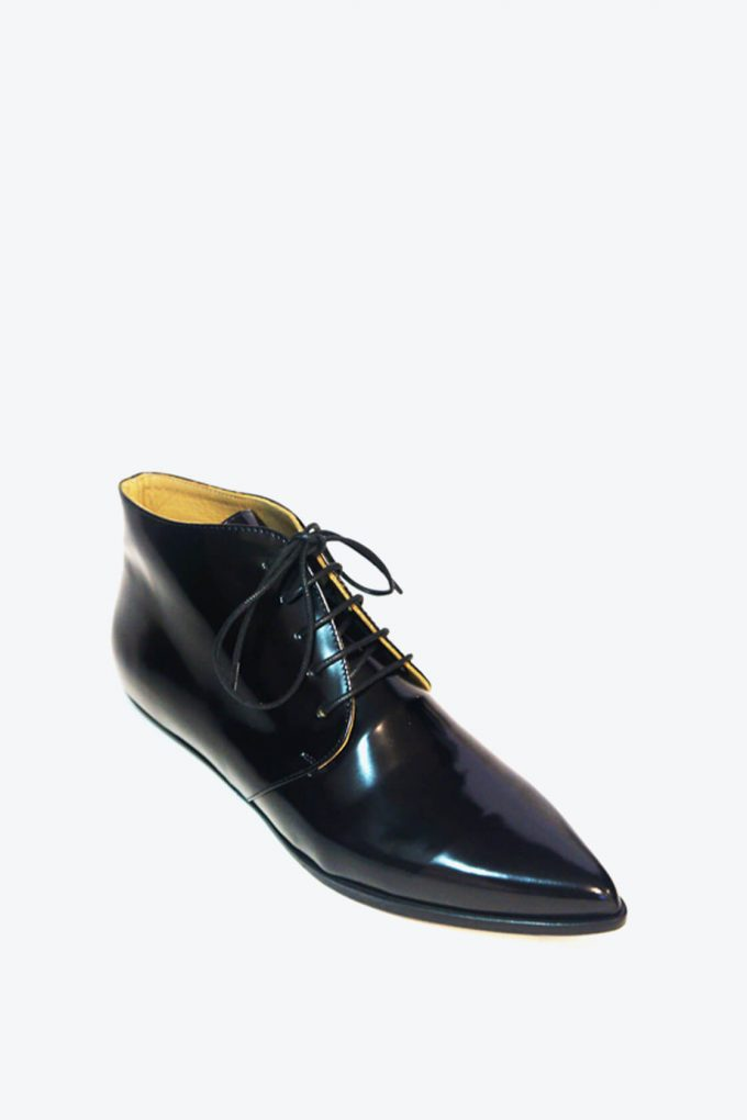 EJK0000050 Merle flat derby shoes black 4
