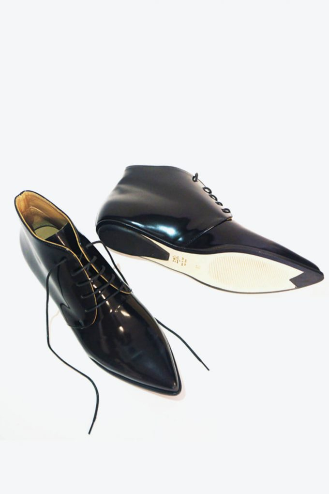 EJK0000050 Merle flat derby shoes black 6