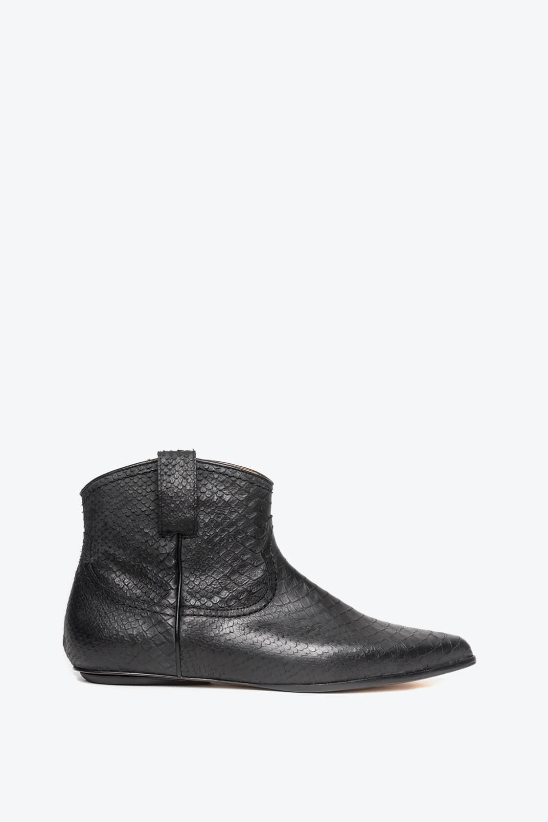EJK0000052 Kenny western boot black python 1