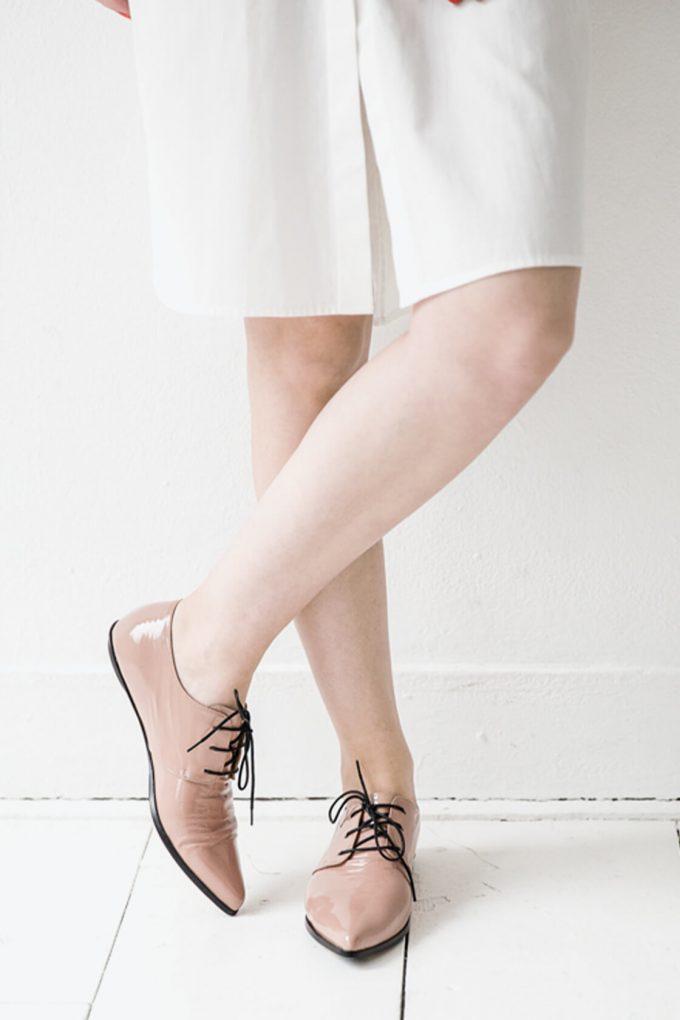 EJK0000053 Renee derby shoes nude 2