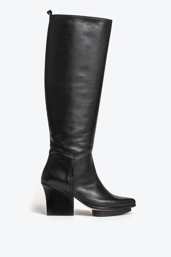 EJK0000055 Mira knee high boots black 1B