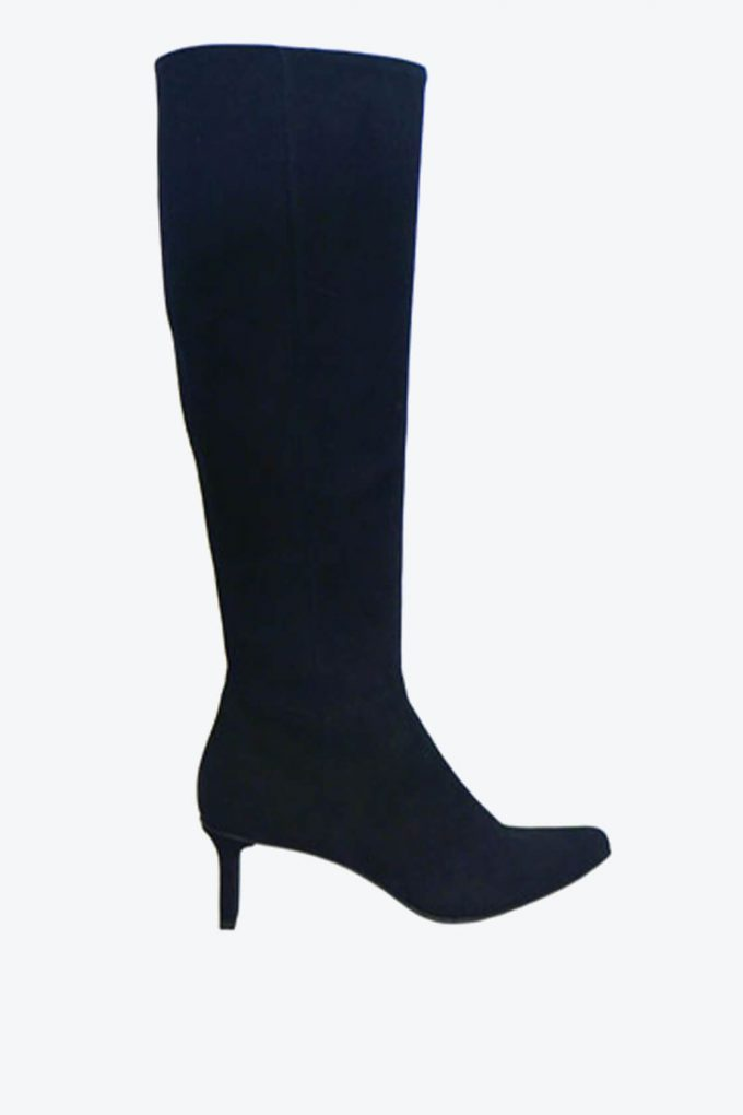 EJK0000057 Charly high boots black suede 1B
