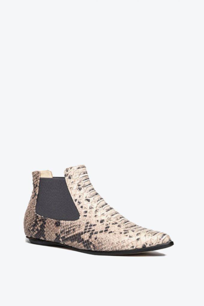 EJK0000060 Niki chelsea boots sand python 4