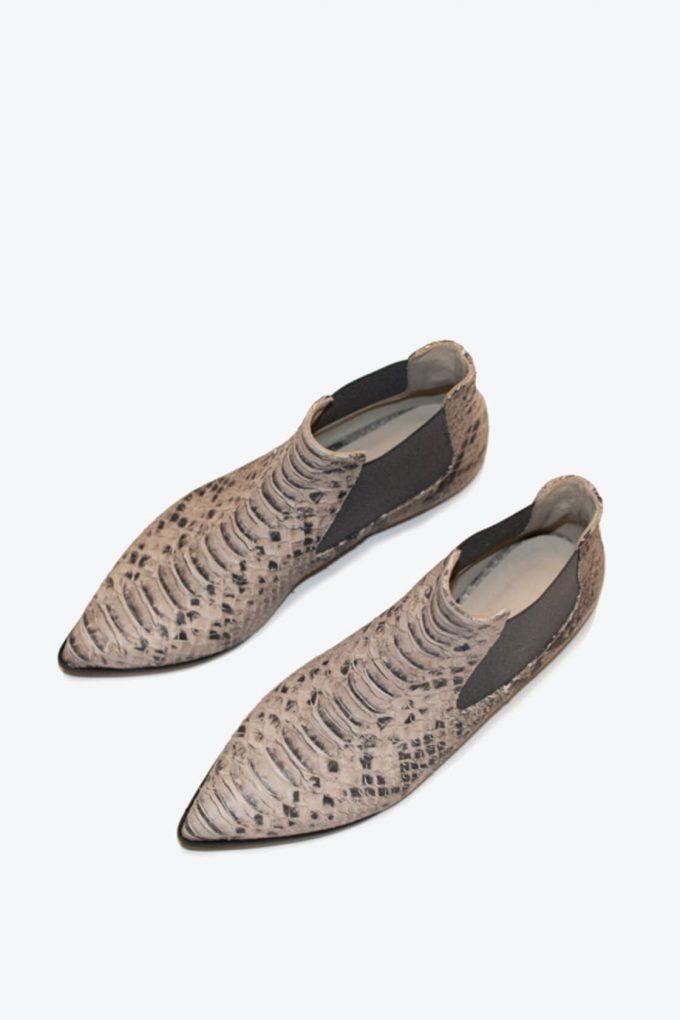 EJK0000060 Niki chelsea boots sand python 6