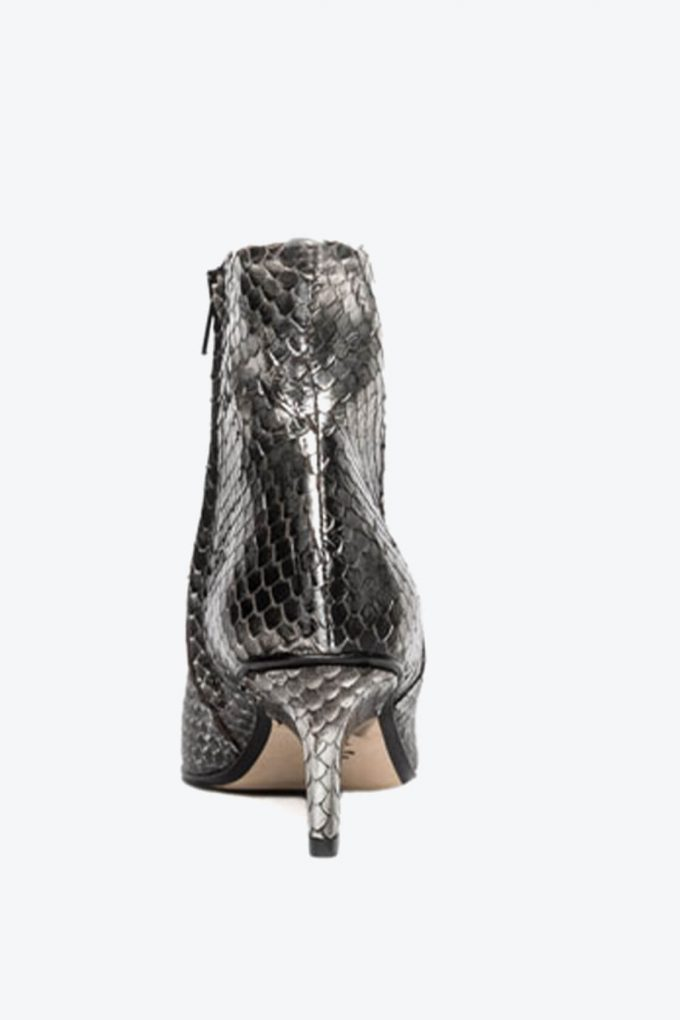EJK0000063 Denis ankle boots silver washed python 5