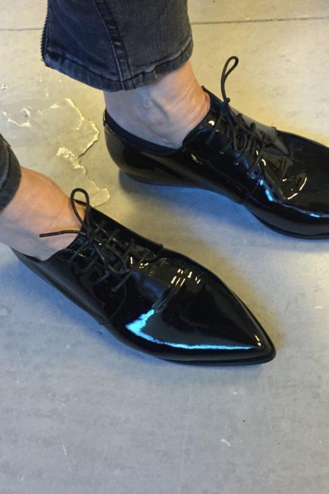 EJK0000068 Renee derby shoes black 4