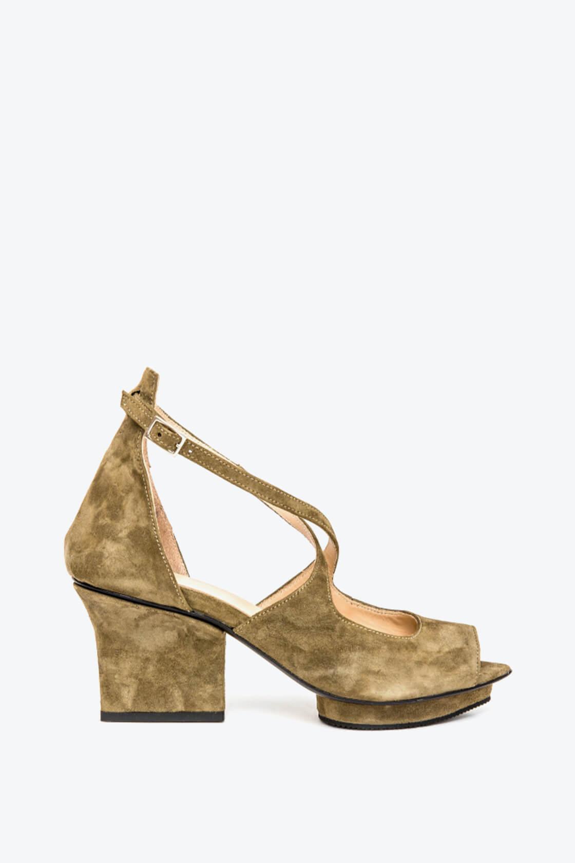 EJK0000074 Sammy sandals olive 1
