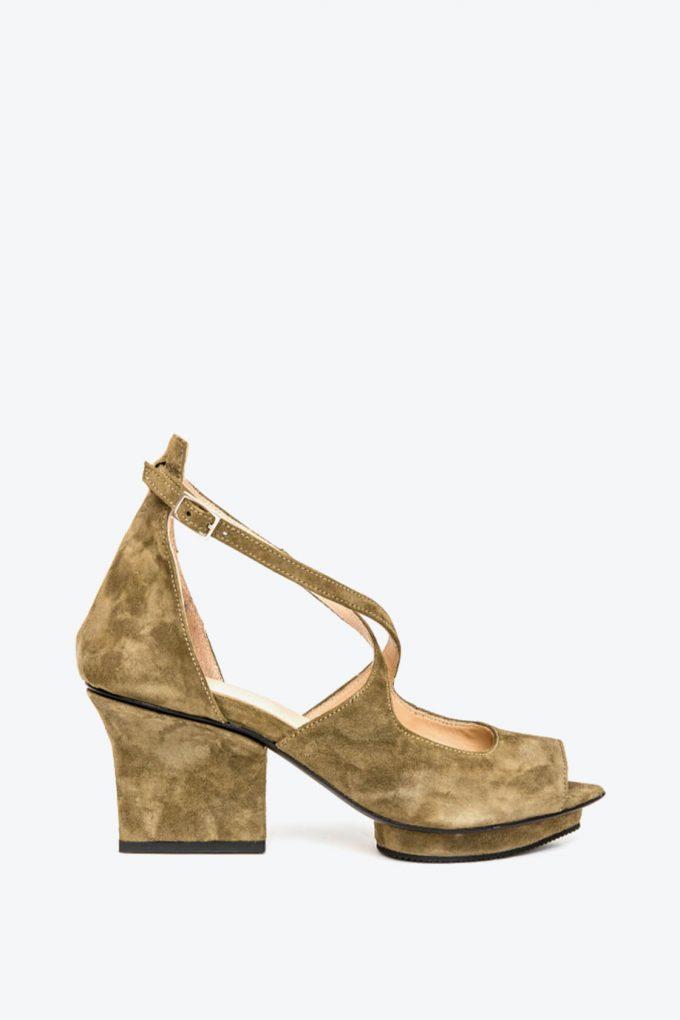 EJK0000074 Sammy sandals olive 1B