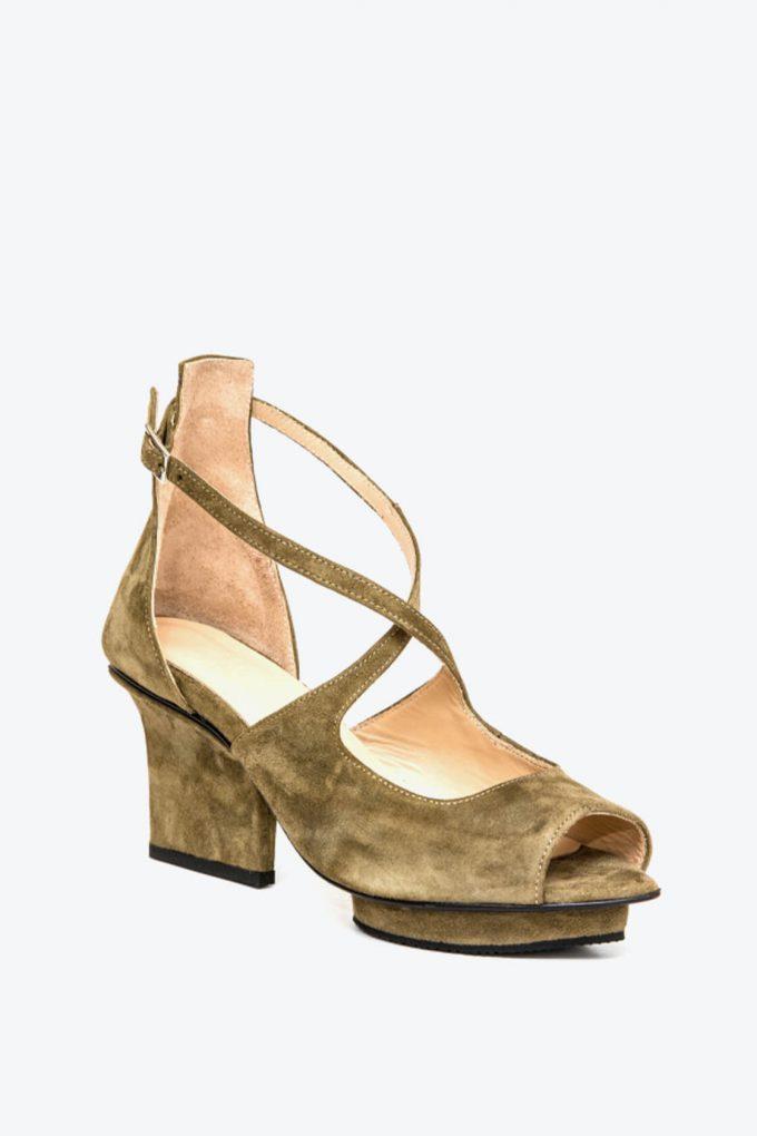 EJK0000074 Sammy sandals olive 3