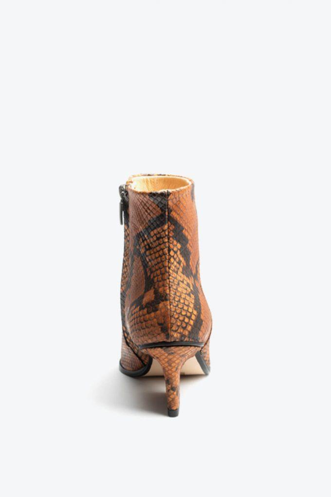 EJK0000081 Ryan ankle boots Camel python 4