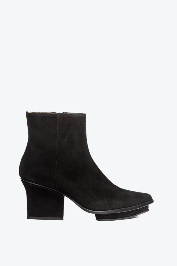 EJK0000084 Roger ankle boots black suede 1B