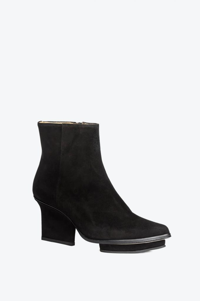 EJK0000084 Roger ankle boots black suede 3