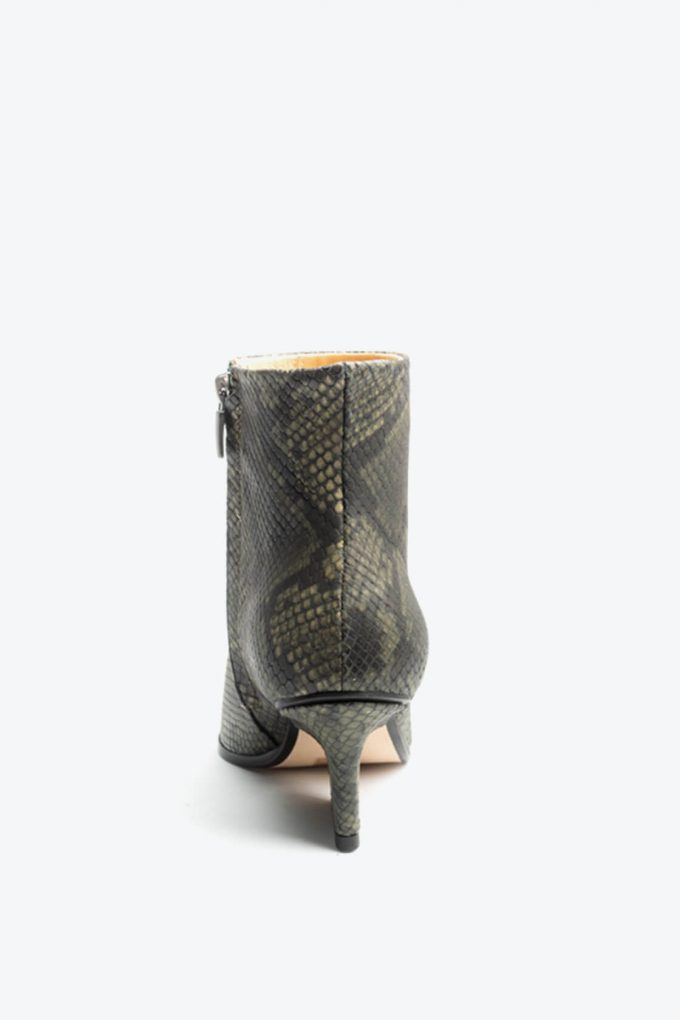 EJK0000085 Ryan ankle boots Green python 4